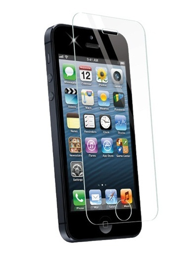 Screen Guard iPhone 5S Tempered Glass Çizilmez Cam Ekran Koruyucu  Renksiz